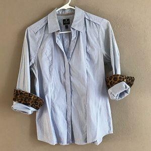EXPRESS 📘 Original Fit Striped Essential Shirt